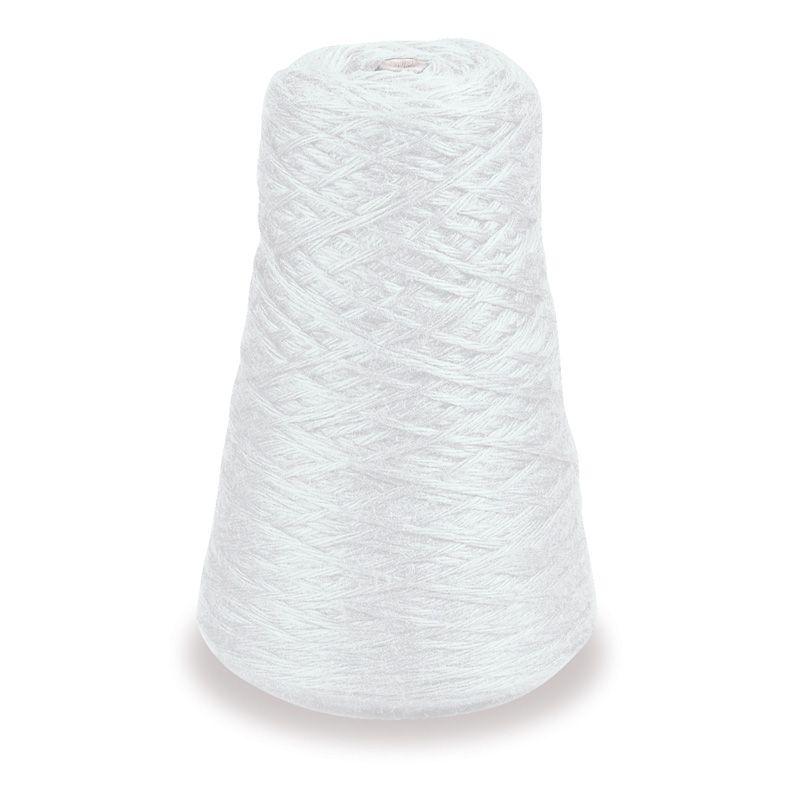 4 Ply Rug Yarn Refill Cone White