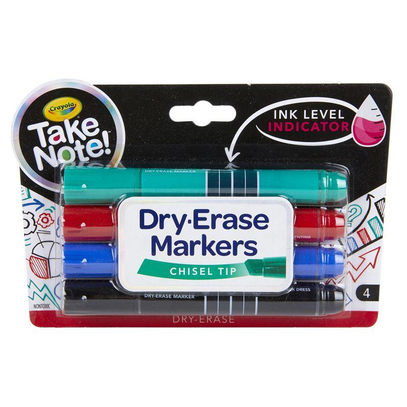 Take Note 4ct Dry Erase Marker