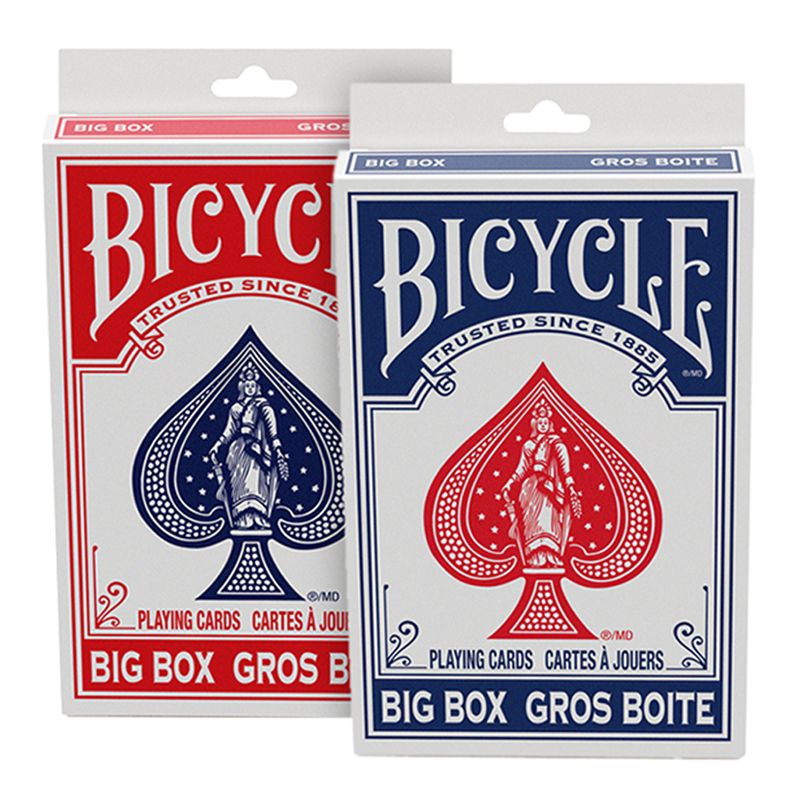 Bicycle Big Box Playing Cards Red Or Blue Let Us Choose Color