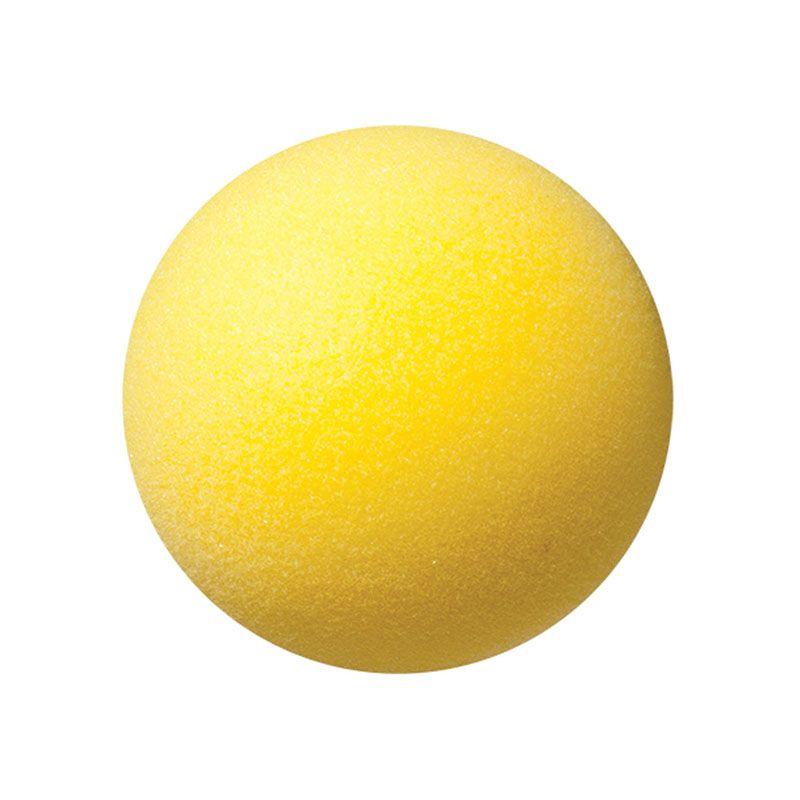 Yellow Foam Ball 4In