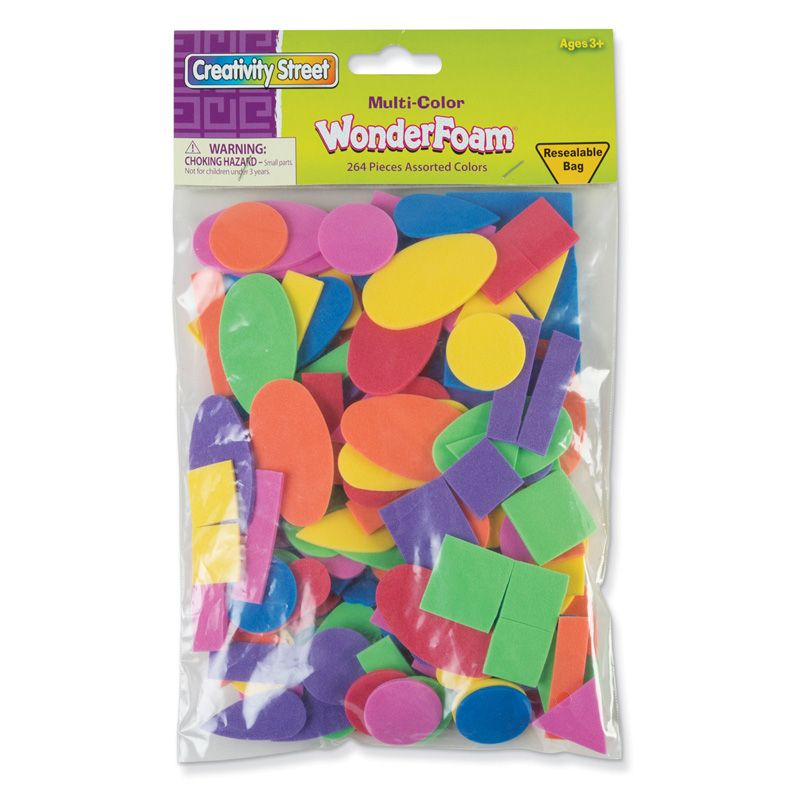 Shapes Assortment Assorted Sizes 264 Pieces
