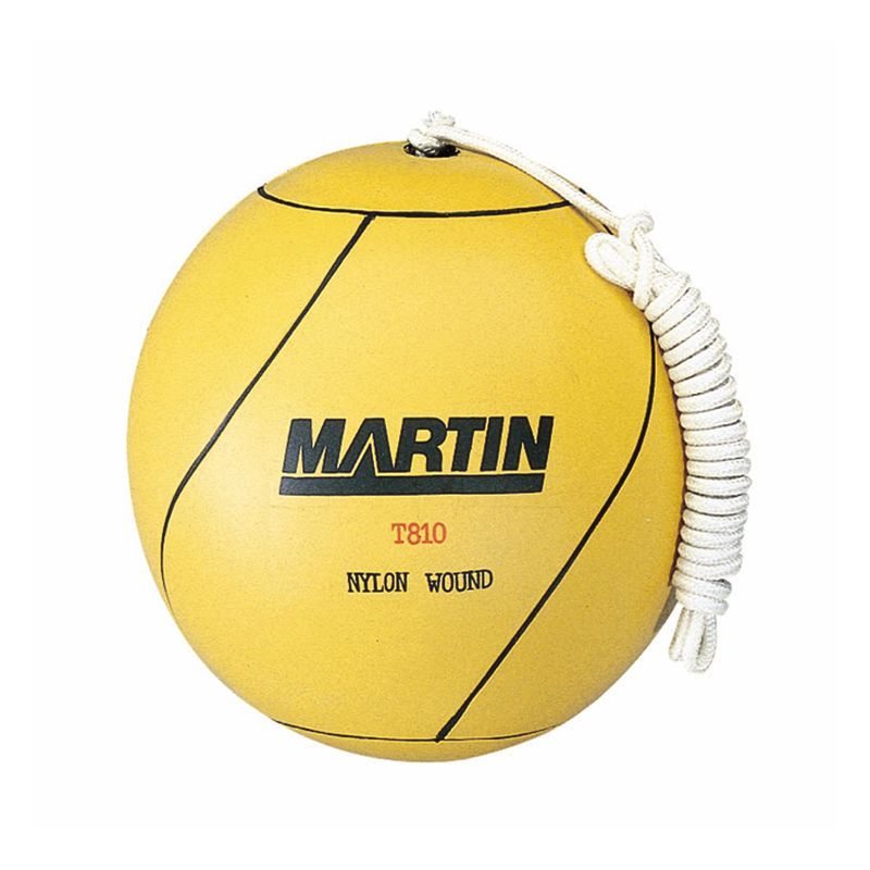 Tetherball Rubber Nylon Wound W/ Rope