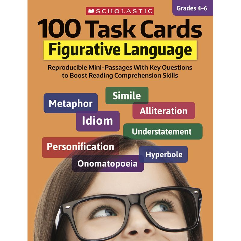100 Task Cards Figurative Language
