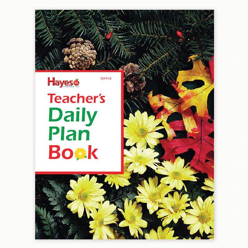 Teachers Daily Plan Book 40 Weeks