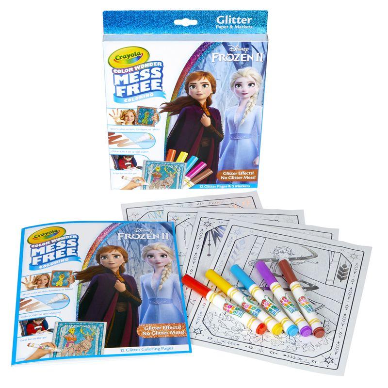 Color Wonder Frozen Glitter Set