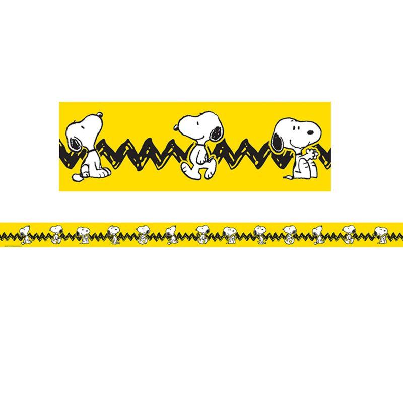 Peanuts Snoopy Yellow Deco Trim