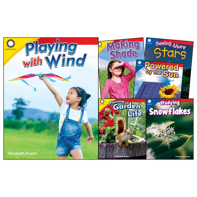 The Natural World Gr K-1 6 Book Set Smithsonian Informational Text
