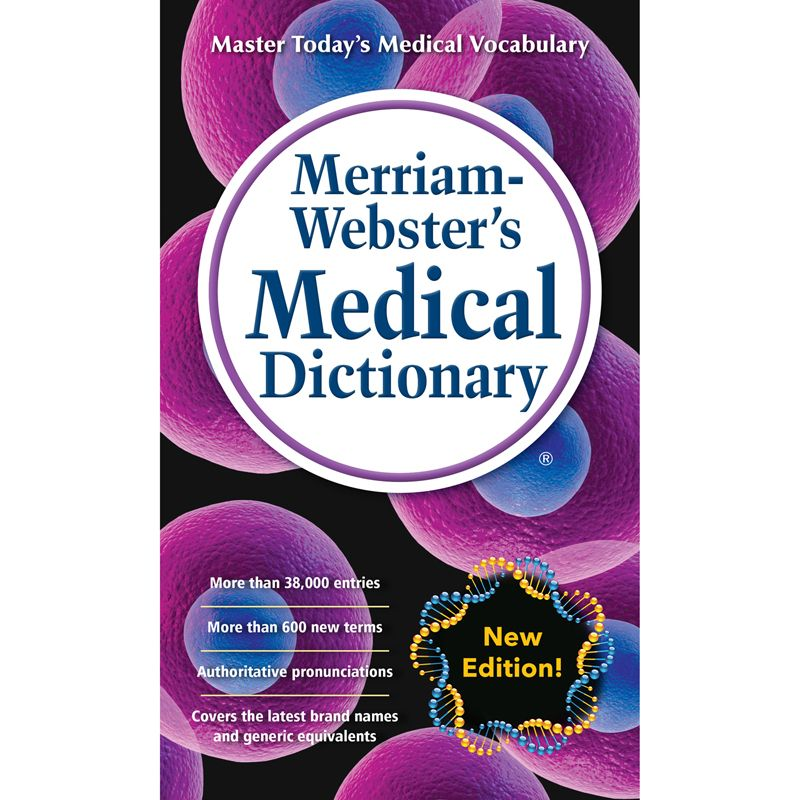 Merriam-websters Medical Dictionary Mass-market Paperback