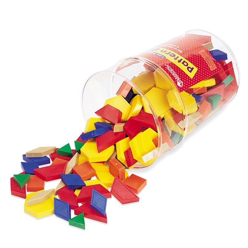 Pattern Blocks Plastic 1Cm 250/Pk