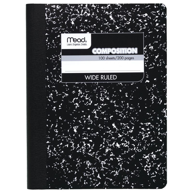Notebook Composition 100Sht 9 3/4 X 7 1/2