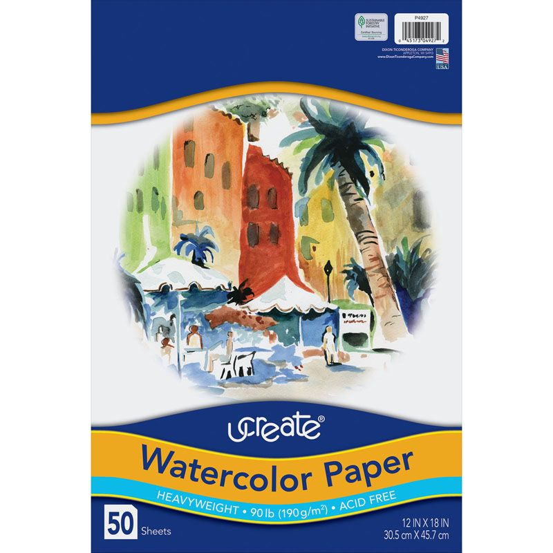 Art1st Watercolor Pads 12 X 18