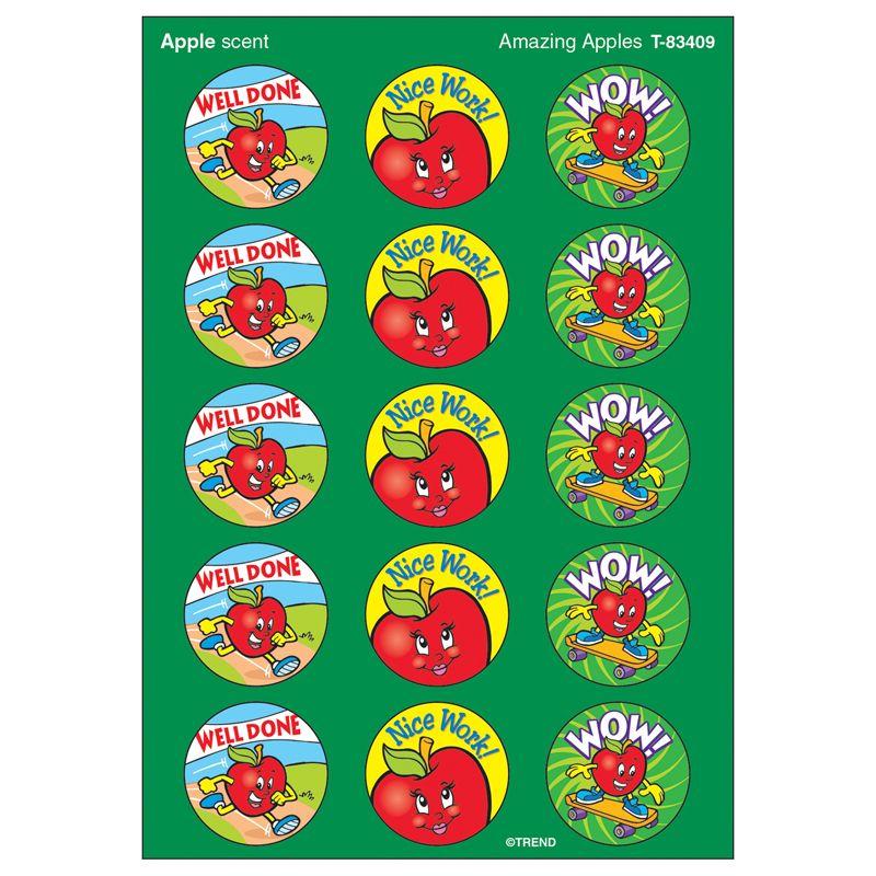 Stinky Stickers Amazing Apples 60Pk Acid-Free Apple