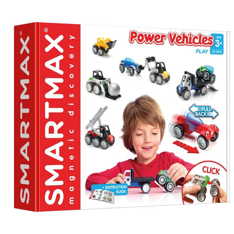 Smartmax Power Vehicles 25 Pcs