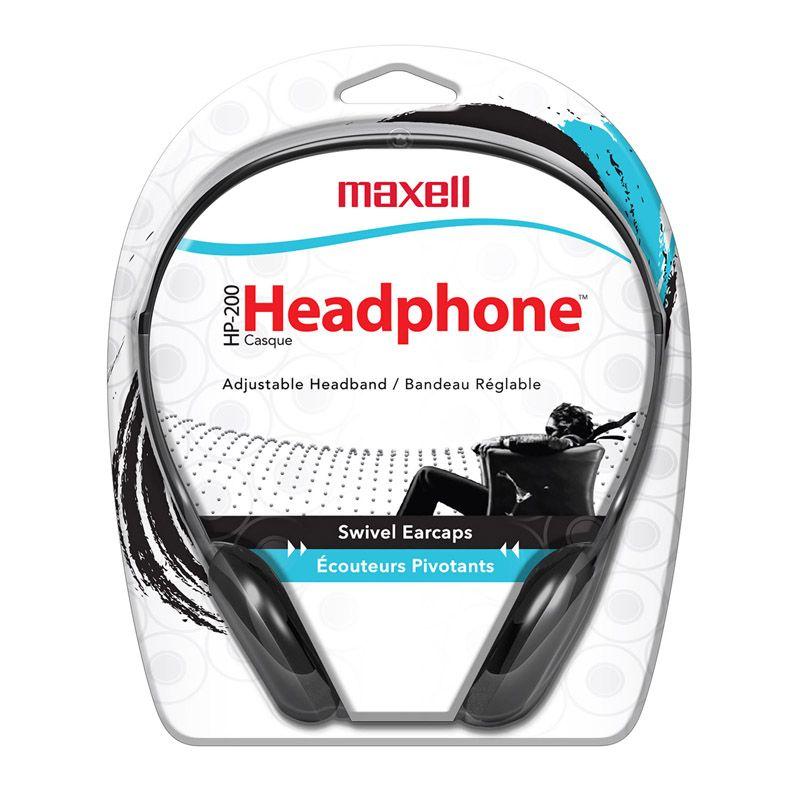 Maxell Hp-200 Stereo Headphones