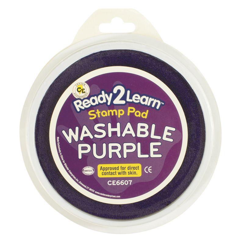 Jumbo Circular Washable Purple Pad
