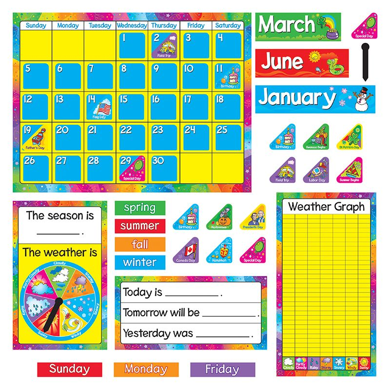 Bb Set Year Round Calendar Gr Pk-3