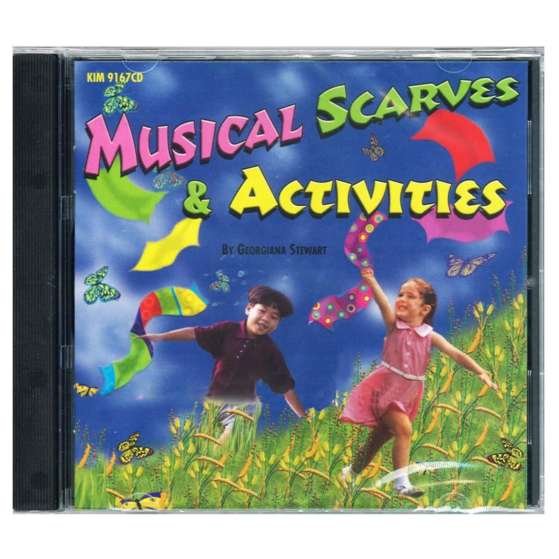 Musical Scarves & Activities Cd Ages 3-8