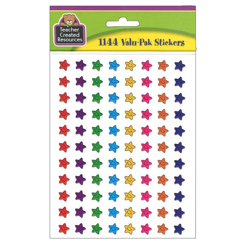 Smiley Stars Mini Stickers Valu-Pak 1144/Pk