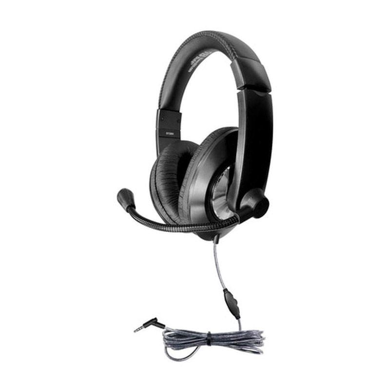 Headset W/ Volume Contrl 3.5mm Trrs
