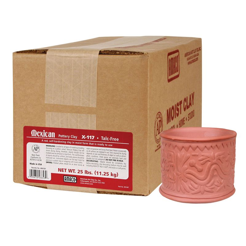 Mexican Pottery Clay 25Lb