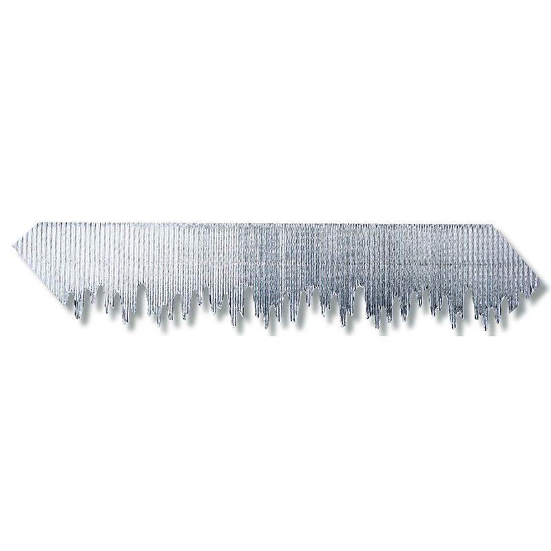 Silver Metallic Icicles Bordette