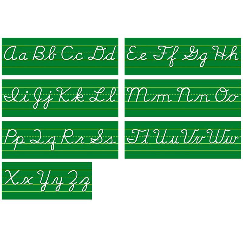 Alphabet Lines Contemporary Cursive