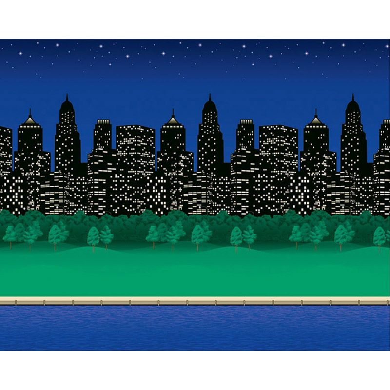 Fadeless 48X12 City Lights 4Rls Per Carton
