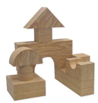 Big Wood Like Blocks