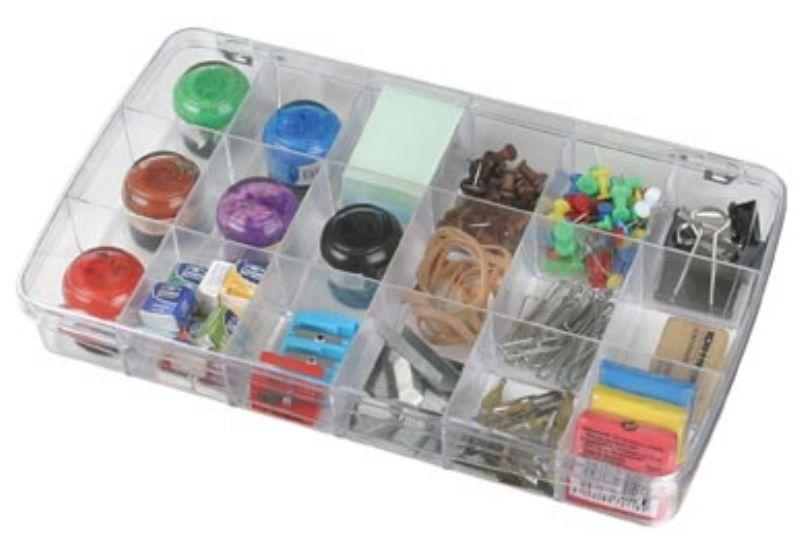 Prism 18-Compartment Box