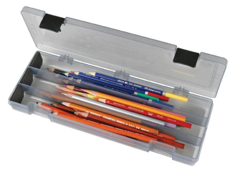 Pencil Utility Box-Charcoal