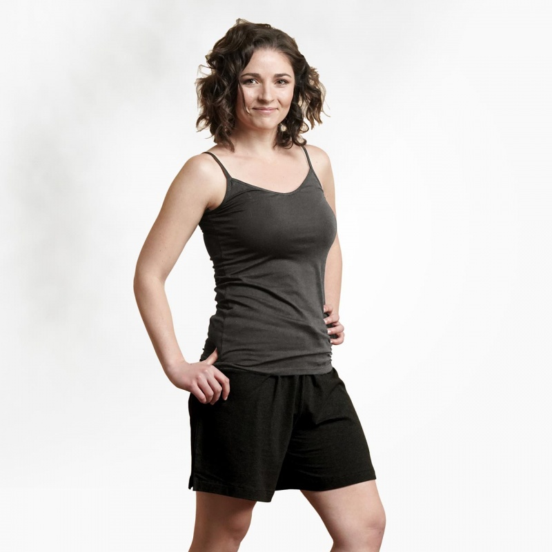 Maggie's Functional Organic Extra Large Heather Grey Camisole
