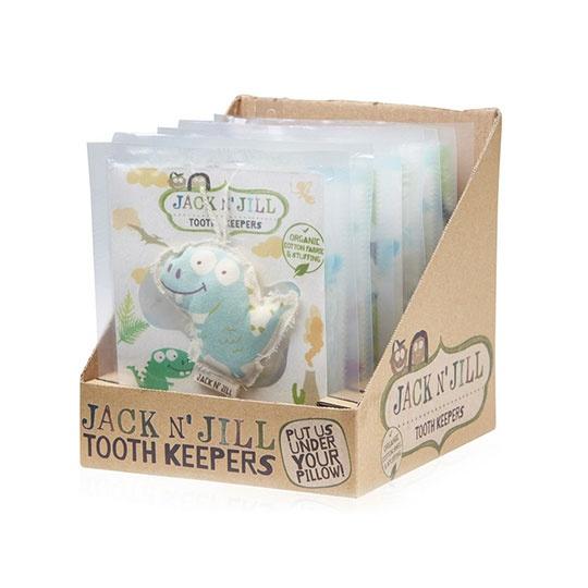 Jack N' Jill Assorted Tooth Keepers 8 Piece Display