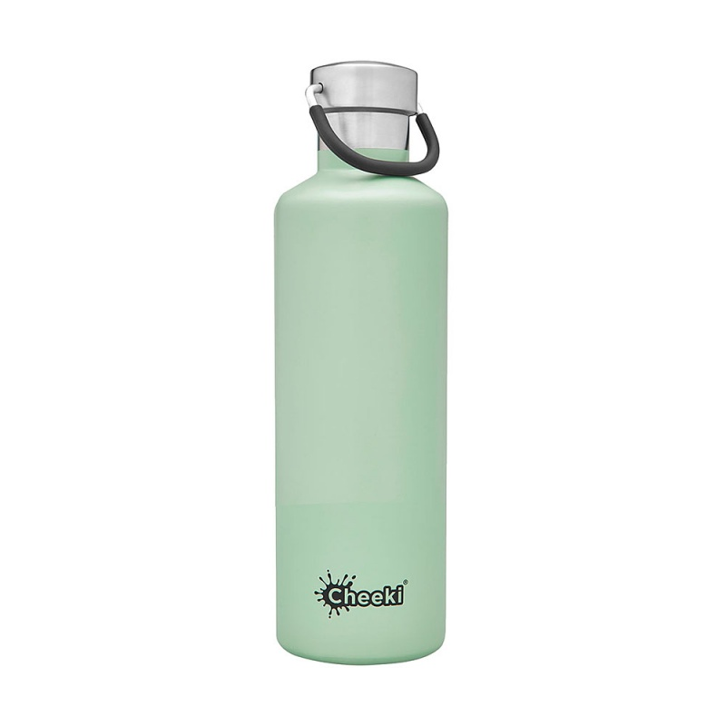 Cheeki Pistachio Insulated Stainless Steel Classic Bottle 20 Oz
