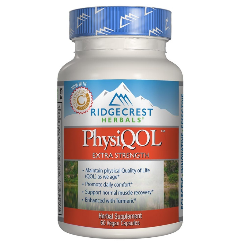 Ridgecrest Herbals Physi Q O L Extra Strength 60 Count