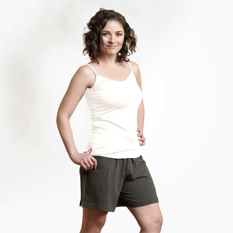 Maggie's Functional Organic Extra Large White Camisole