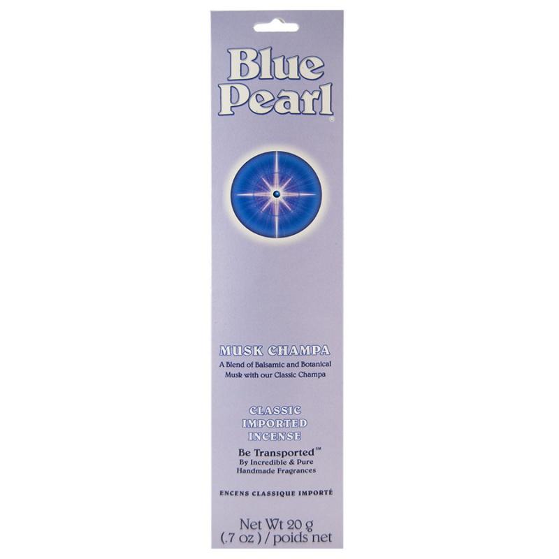 Blue Pearl Musk Champa Incense 20 Grams