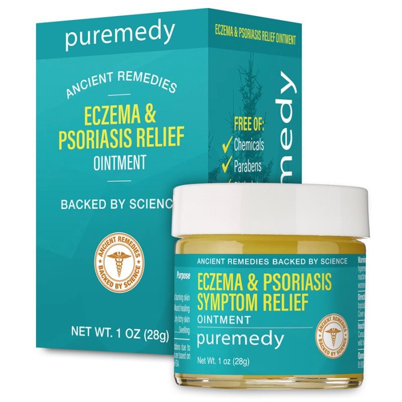 Puremedy Eczema & Psoriasis Ointment 1 Oz
