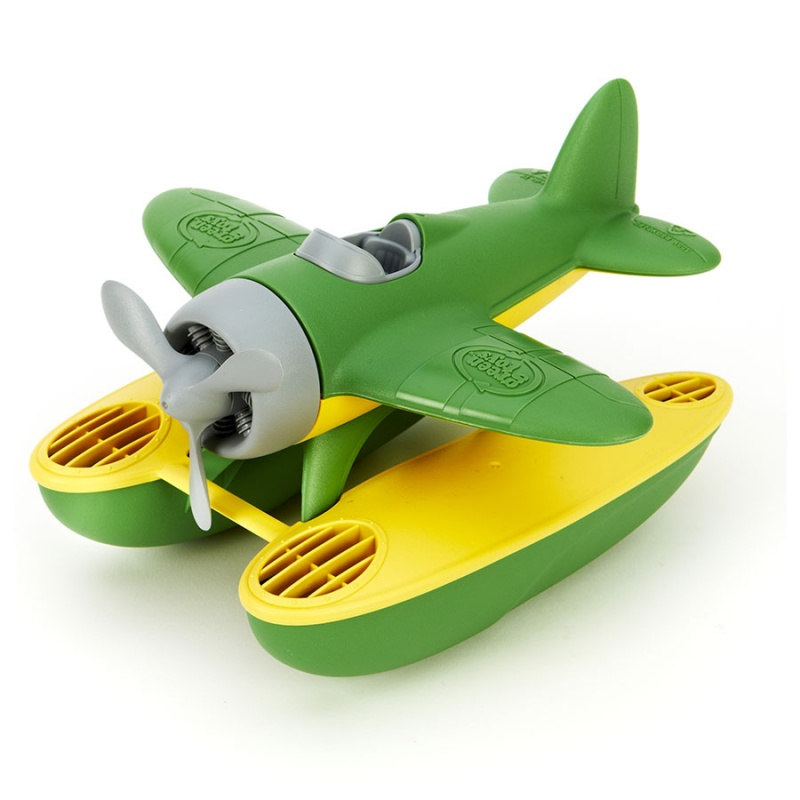 Green Toys Bath & Water Play Green Seaplane For 1+ Years