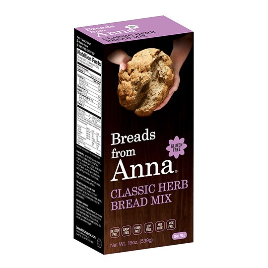 Breads From Anna Classic Herb Bread Mix 19 Oz.