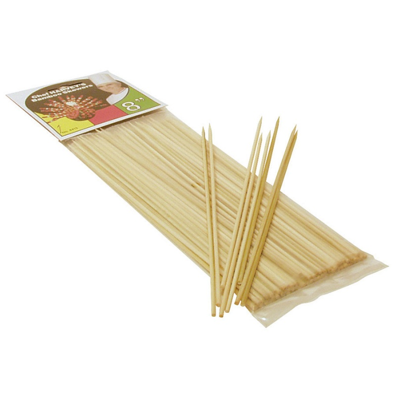 Hic Bamboo Skewers 100 (8 Inch) Count