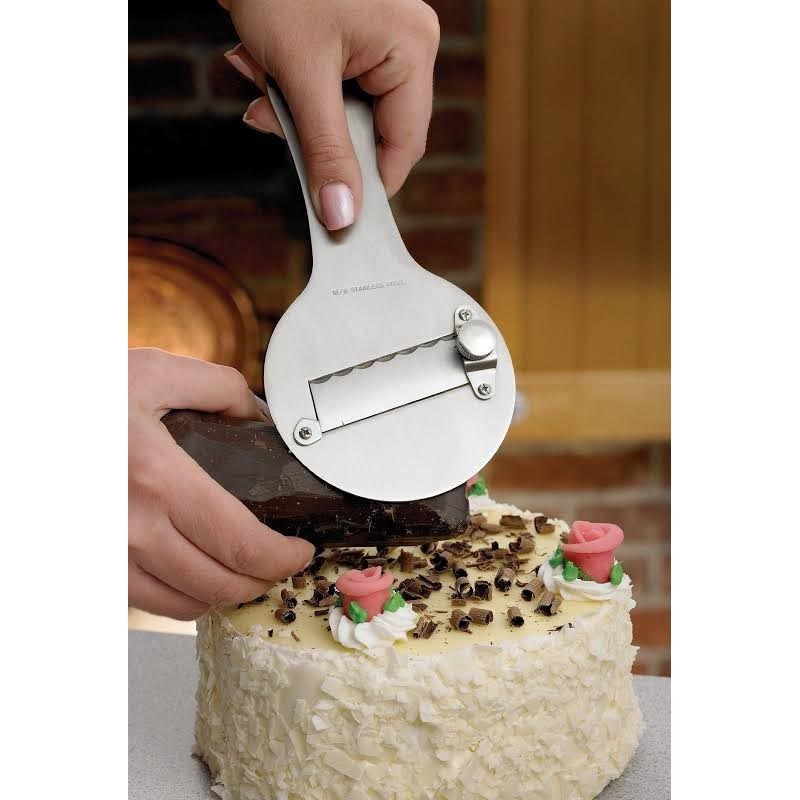 Mrs Anderson Stainless Steel Adjustable Chocolate Shaver
