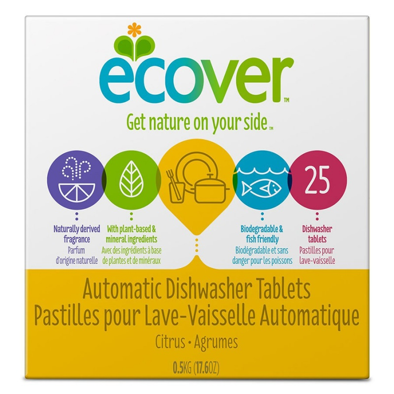 Ecover Automatic Dishwashing Tablets 25 Count