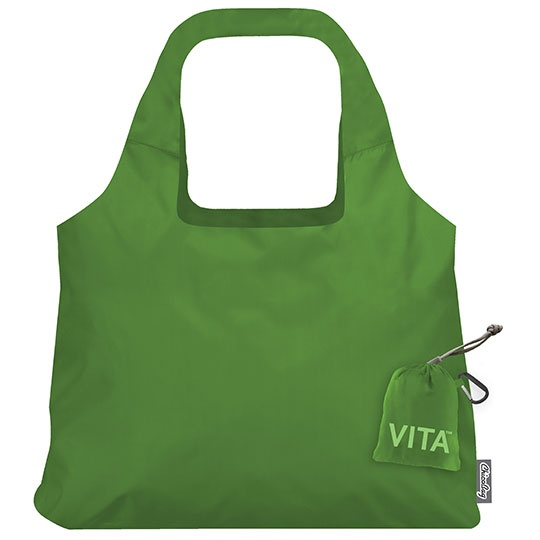Chico Bag Pale Green Vita Reusable Shopping Bag 19 X 13