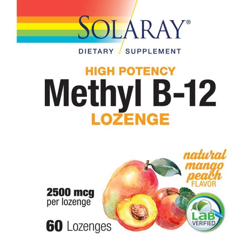 Solaray Methyl B-12 60 Count
