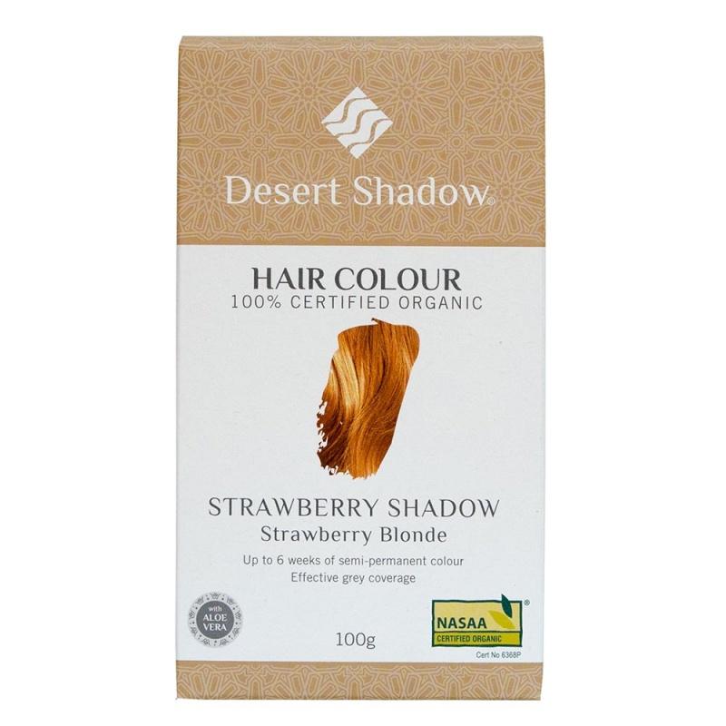 Desert Shadow Strawberry Shadow Strawberry Blonde Organic Hair Color 3.5 Oz
