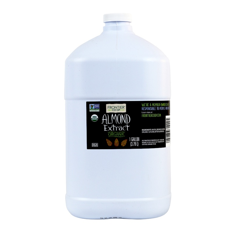 Frontier Co-Op Almond Extract, Organic 1 Gallon