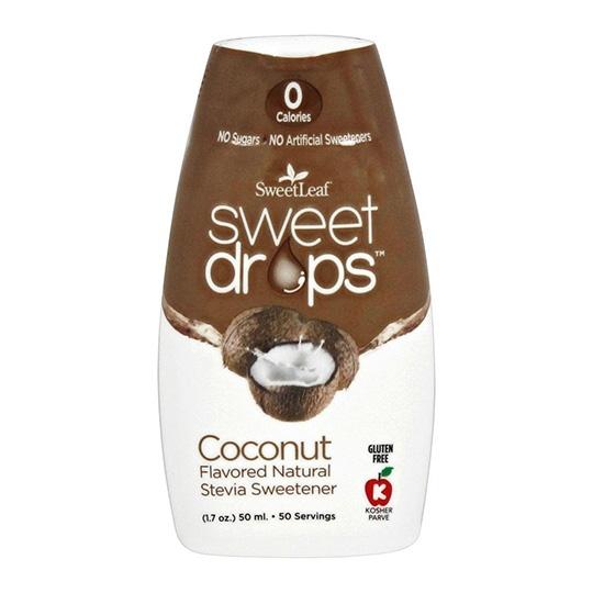 Sweetleaf Coconut Liquid Stevia Drops 1.7 Fl. Oz.