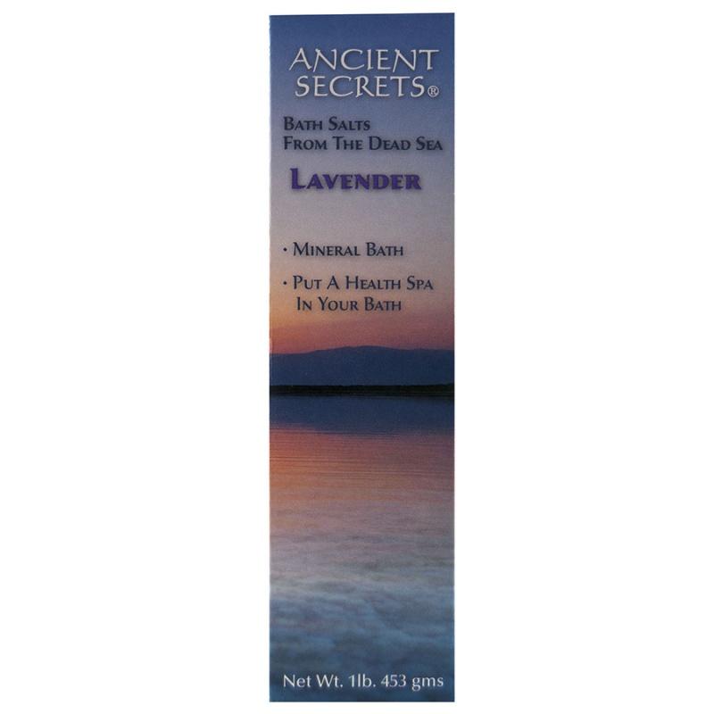 Ancient Secrets Lavender Mineral Bath 1 Lb