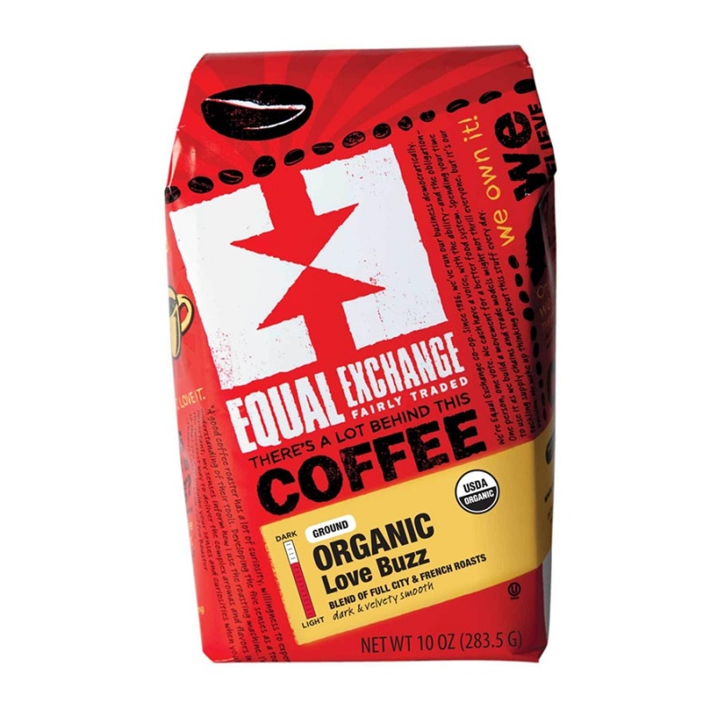 Equal Exchange Organic Love Buzz Coffee 10 Oz.