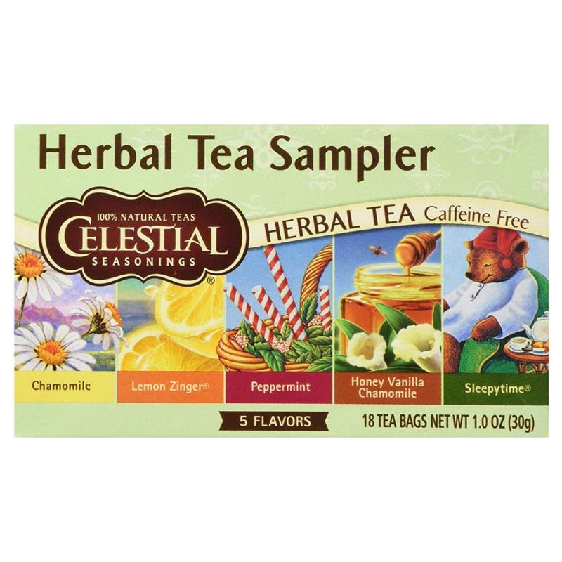 Celestial Seasonings Herb Tea Sampler 20 Tea Bags